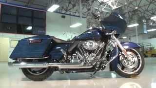 10. 2013 Harley-Davidson Road Glide Custom - Big Blue Pearl
