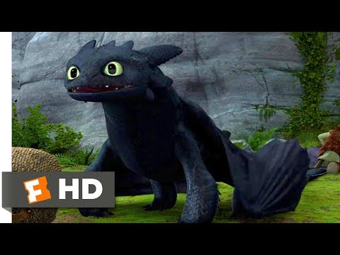 How to Train Your Dragon (2010) - A New Tail Scene (3/10) | Movieclips