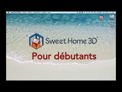 Sweet Home 3D pour débutants