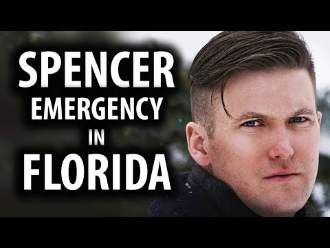 Florida in State of Emergency Over Richard Spencer (видео)