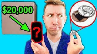 Video SPY GADGETS in REAL LIFE - $20,000 EBAY MYSTERY BOX Challenge Unboxing Haul! MP3, 3GP, MP4, WEBM, AVI, FLV September 2018