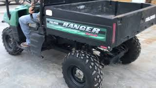 5. 2004 Polaris 500 Ranger 4x4