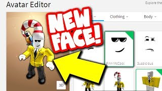 changing my roblox face