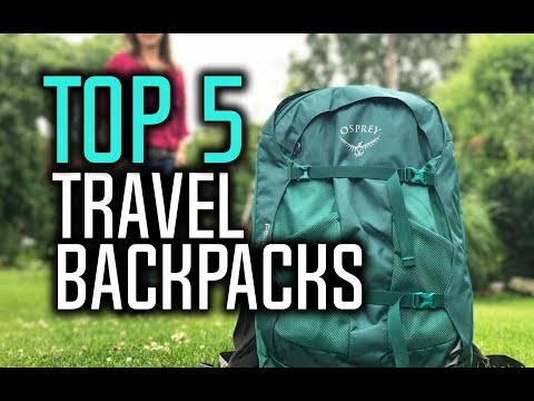 Best Travel Backpacks in 2018 - Which Is The Best Backpack For Traveling?