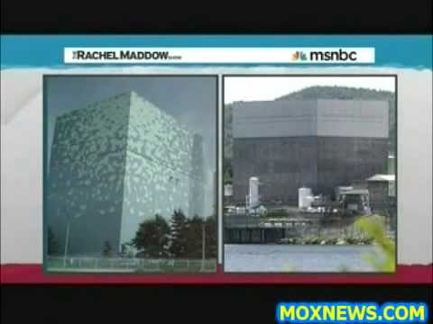 MAP OF FUKUSHIMA STYLE NUCLEAR REACTORS INSIDE THE U S  Hi Old Boss! Maddow