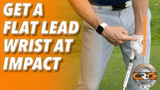 Video HOW TO GET A FLAT LEAD WRIST AT IMPACT MP3, 3GP, MP4, WEBM, AVI, FLV September 2018