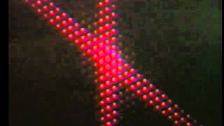 Optics: Fraunhofer Diffraction - Crossed Multiple Slits