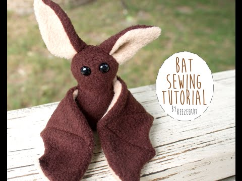 How To Sew A Beginner Bat Plush