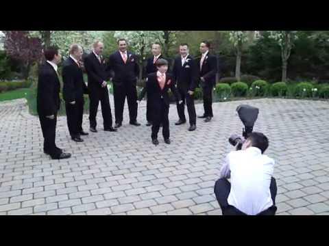 Jenni Lee Wedding Photo Shoot 4-9-2010 (видео)