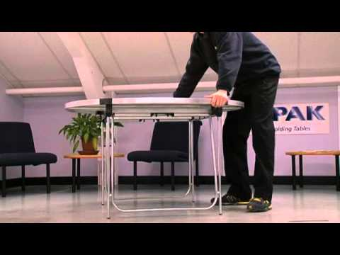 Gopak ® How To Folding Legs on Round Folding Table