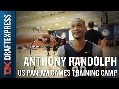 Anthony Randolph 2015 US Pan-Am Games Training Camp Interview