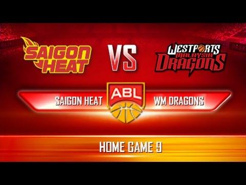 Trực tiếp | Giải Bóng rổ ABL | Game 16 | Saigon Heat - KL Dragons (11.03.17)