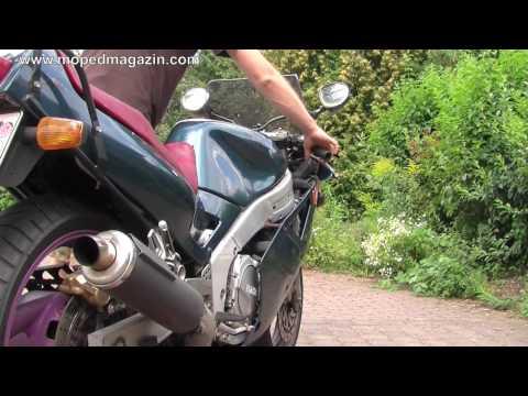 Soundcheck Yamaha FZR 1000 Eisenhaufen (видео)