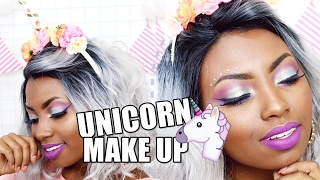 Ei negas, aprenda fazer uma maquiagem de unicórnio em pele negra para usar no carrnaval 2017. Unicórnio está super em alta e suas cores são fofas. Essa maqui...