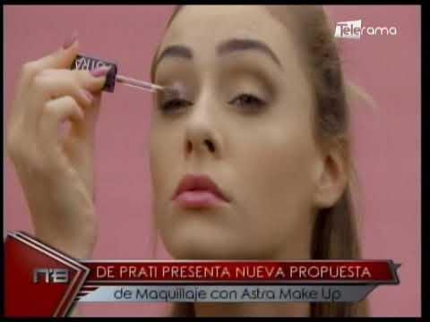 De Prati presenta nueva propuesta de maquillaje con Astra Make Up