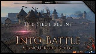 Video CONQUEROR'S BLADE - Attack & Defense Siege PVP 🔰Uncrowned & Crimson Blades (1080p) 60FPS MP3, 3GP, MP4, WEBM, AVI, FLV November 2018