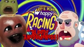 Midget Apple Plays - HAPPY RACING: Bloody Awesomeness!