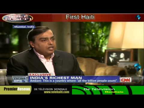(Mukesh - FAREED ZAKARIA, HOST: Mukesh Ambani hasn't given a television interview in almost a decade. He has never let TV cameras into his 27-story home in Mumbai. Unt...