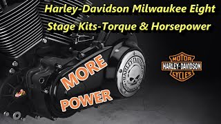 8. Harley-Davidson Milwaukee Eight Stage Kits | Understanding Torque And Horsepower