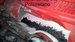 2013 Reparación entrada agua frente delantero carrocería IES Cangas del Narcea
