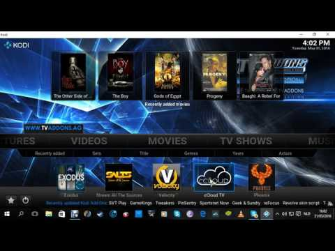 complete Kodi setup, included subtitles, addons and add your own movies and series