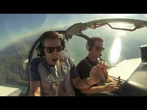 This guy is terrified of flying so it only makes sense that his friend should take him on a flight...in a stunt plane.