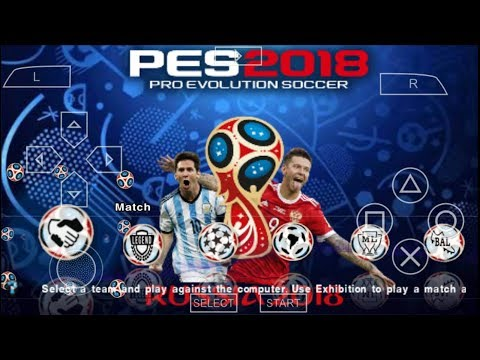 Download Game PES CHELITO V4 Mod Fifa World Cup Russia 2018 PPSSPP Android