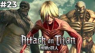 Tiga Titan Sekaligus   Attack On Titan   Indonesia  23