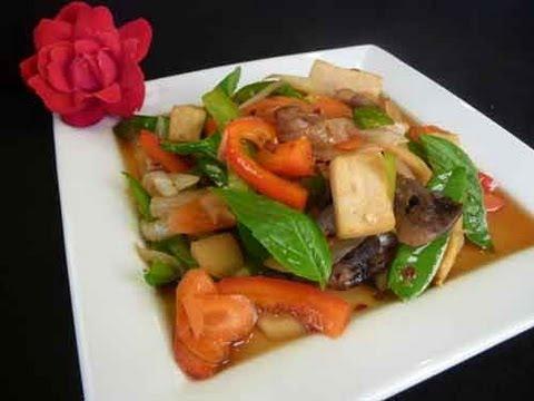 Thai Spicy Basil – Thai Cuisine Recipe