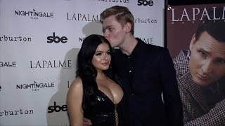 Ariel Winter and Levi Meaden 2017 LaPalme Magazine's Fall Cover Party Red Carpet
