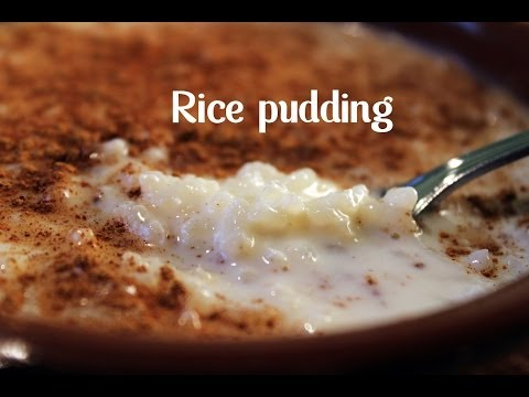 RICE PUDDING BY SPANISH COOKING