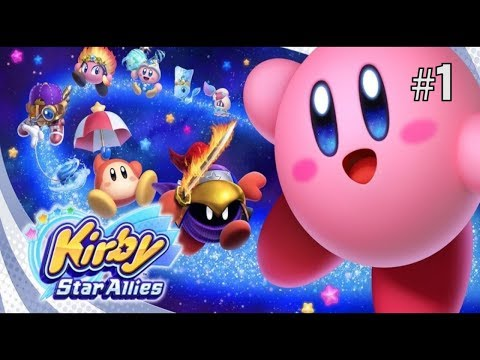Twitch Livestream  Kirby Star Allies Part 1 [Switch]