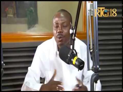 Moïse Jean-Charles, le candidat à la présidence participe à l'émission Dil Janl Ye
