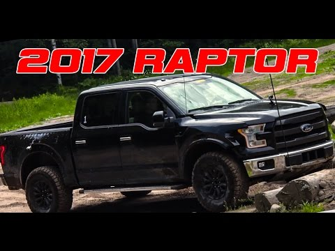 Black 2017 F-150 Raptor Caught on video