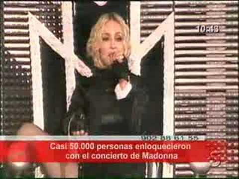 Madonna en Sevilla