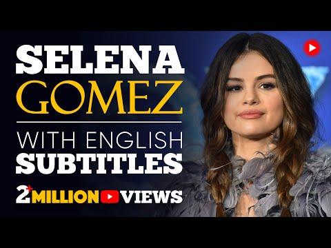ENGLISH SPEECH | SELENA GOMEZ: Trust Yourself (English Subtitles)