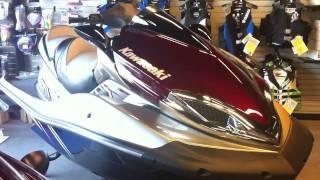 3. 2011 Kawasaki Jet Ski Ultra 300LX Titanium/Red