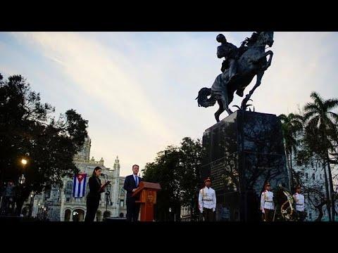 Κούβα: «Συννεφιασμένη» τελετή για τον Χοσέ Μαρτί