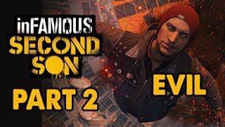 inFamous: Second Son Evil Walkthrough Part 2 - Space Needle - Evil&Expert Playthrough