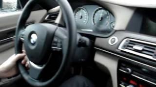 NEW 2009 BMW 750i - TEST DRIVE