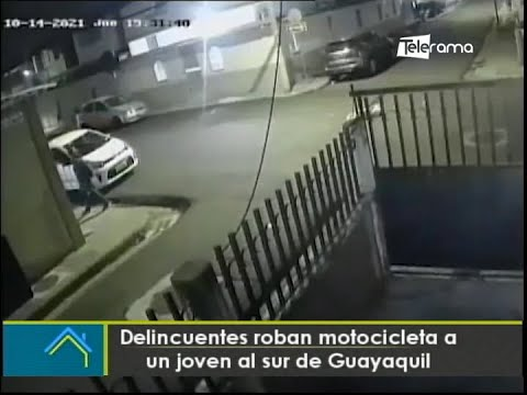 Asaltan en exteriores de centro comercial de Guayaquil