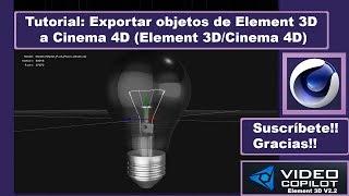 En este tutorial os explico como llevar o exportar objetos de nuestro element 3D a Cinema 4D y volverlos a importar de nuevo a nuestro element 3D después de en nuestro caso fracturar el cristal de una bombilla. --------------------------------------------------Mi página Web -► http://www.mepasoamac.com--------------------------------------------------Espero les Guste este Vídeo, Déjame un Like !y No te pierdas los nuevos vídeos, Suscribete Ahora es Gratis!◕ Click Aquí para Suscribirte! -► https://goo.gl/GhuzT9--------------------------------------------------Mi página Web -► http://mepasoamac.comComparte el video en Facebook -► https://goo.gl/VqfRw0--------------------------------------------------Sígueme.. Twitter -► https://goo.gl/yWQzbtSígueme.. GooglePlus -► goo.gl/AYRwFR--------------------------------------------------