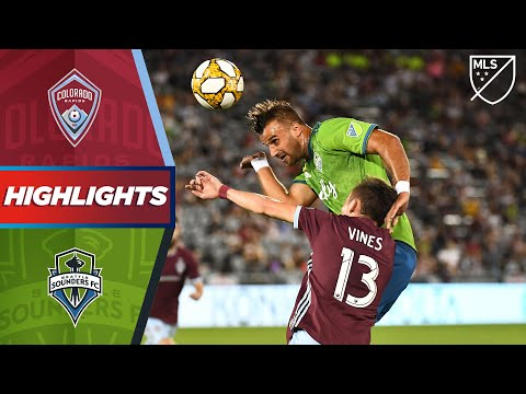 Video: Colorado Rapids vs. Seattle Sounders FC | HIGHLIGHTS - September 7, 2019