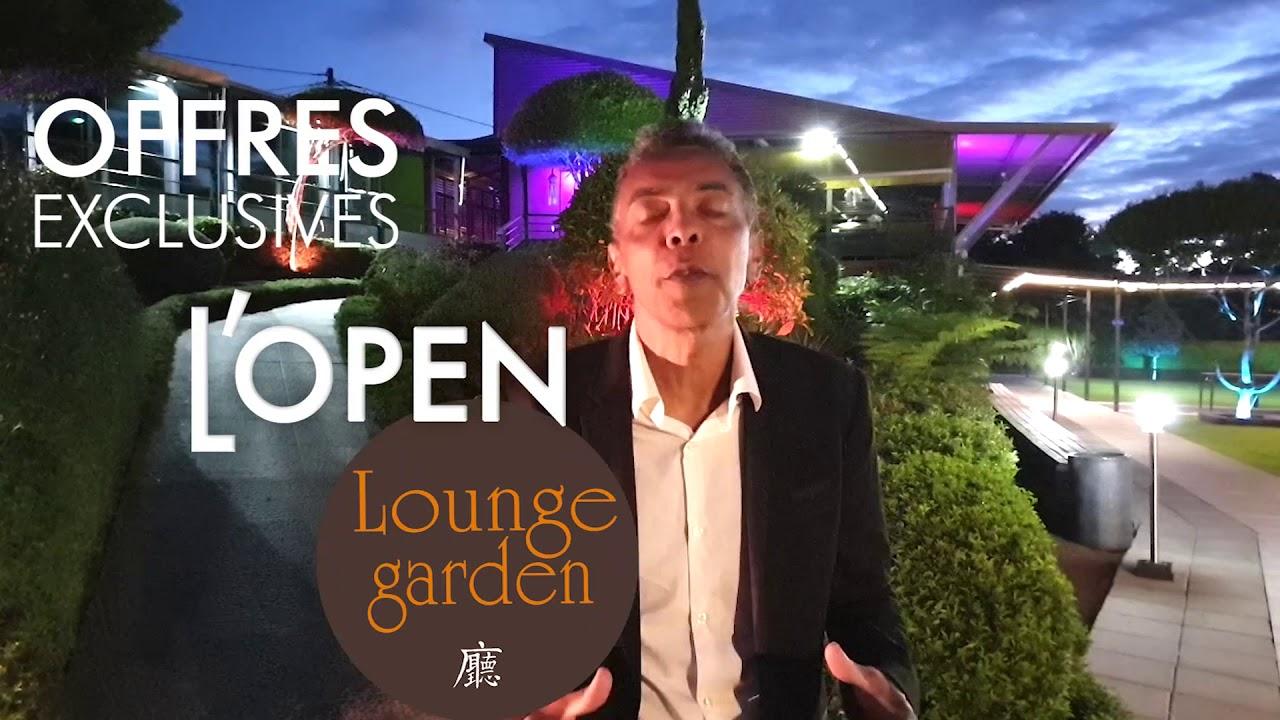 L'Open du Lounge Garden se déroulera en Avril 2019!