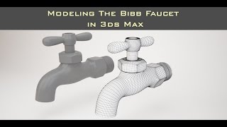In this video we will go over how to model the Bibb FaucetOriginal Post at: http://www.dkcgi.net/2016/10/31/modeling-faucets-in-3ds-max/