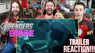 Marvel Studios' AVENGERS: ENDGAME - Official TRAILER REACTION!!! by The Reel Rejects