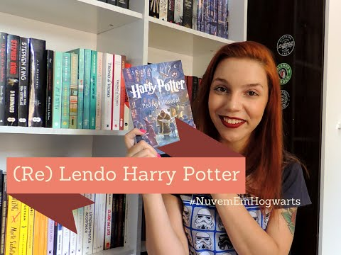 (Re) Lendo Harry Potter | A Pedra Filosofal #NuvemEmHogwarts
