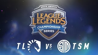 Video TL vs. TSM - Week 9 Day 2 | NA LCS Spring Split | Team Liquid vs. TSM (2018) Tiebreaker MP3, 3GP, MP4, WEBM, AVI, FLV Juni 2018