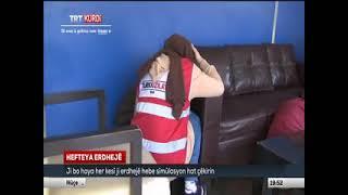 Deprem Simülasyon Tırı Gaziosmanpaşa'da - Trt Kurdi