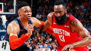 Houston Rockets vs Oklahoma City Thunder - Full Game Highlights | April 9, 2019 | 2018-19 NBA Season